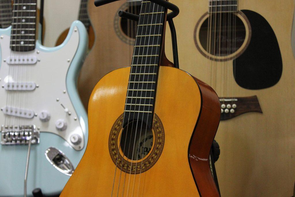 wypożycz gitarę