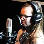 Szkolny zespół BE HAPPY! w studio