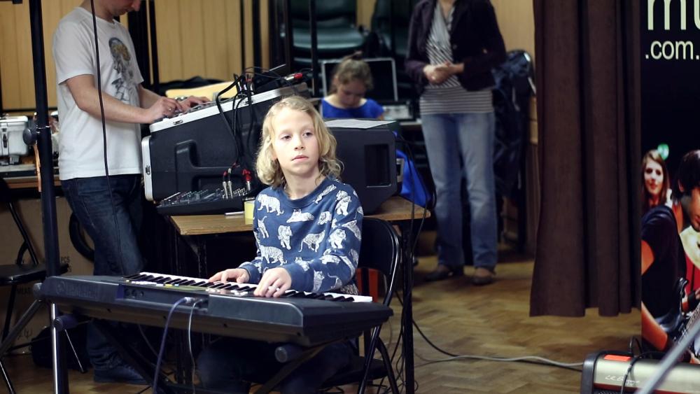 Koncert uczniów szkoły raszyn 1